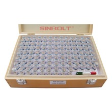 Sinbolt pin Gauge Set ,Plug Gauge Set,2.000mm--2.990mm,100pcs+Pin Gauge Handle,fast delivery! fast set