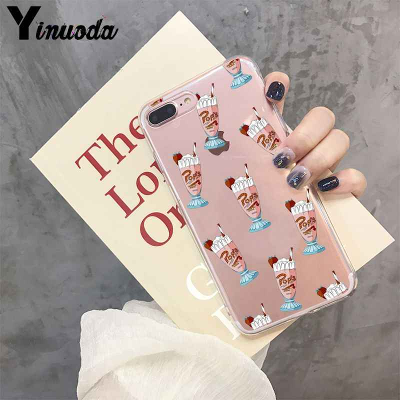 Yinuoda Hot TV Riverdale TPU Transparent Phone Case Cover Shell for iPhone X XS MAX 6 6S 7 7plus 8 8Plus 5 5S XR