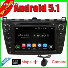 "8 ""Quad Core Android 5.1 GPS Del Coche Para MAZDA 6 2008-2012/Ruiyi 2008-2012/Ultra 2008-2012 Con 16 GB Flash Radio Estéreo Multimedia"