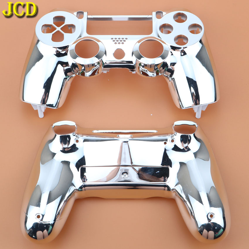 Image 4 - JCD Plating Housing Shell Case Front back / Upper Lower Cover for Sony PS4 DualShock 4 Controller Gamepad JDM 001 V1 Version-in Cases from Consumer Electronics