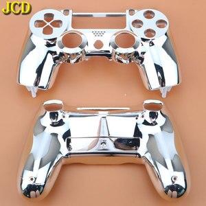 Image 4 - JCD Plating Housing Shell Case Front back / Upper Lower Cover for Sony PS4 DualShock 4 Controller Gamepad JDM 001 V1 Version
