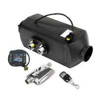 12V 5KW Air Diesel Heater Remote Controller New LCD Switch + Silencer 10L Tank For Trucks Boat Car Similar Webasto Heater