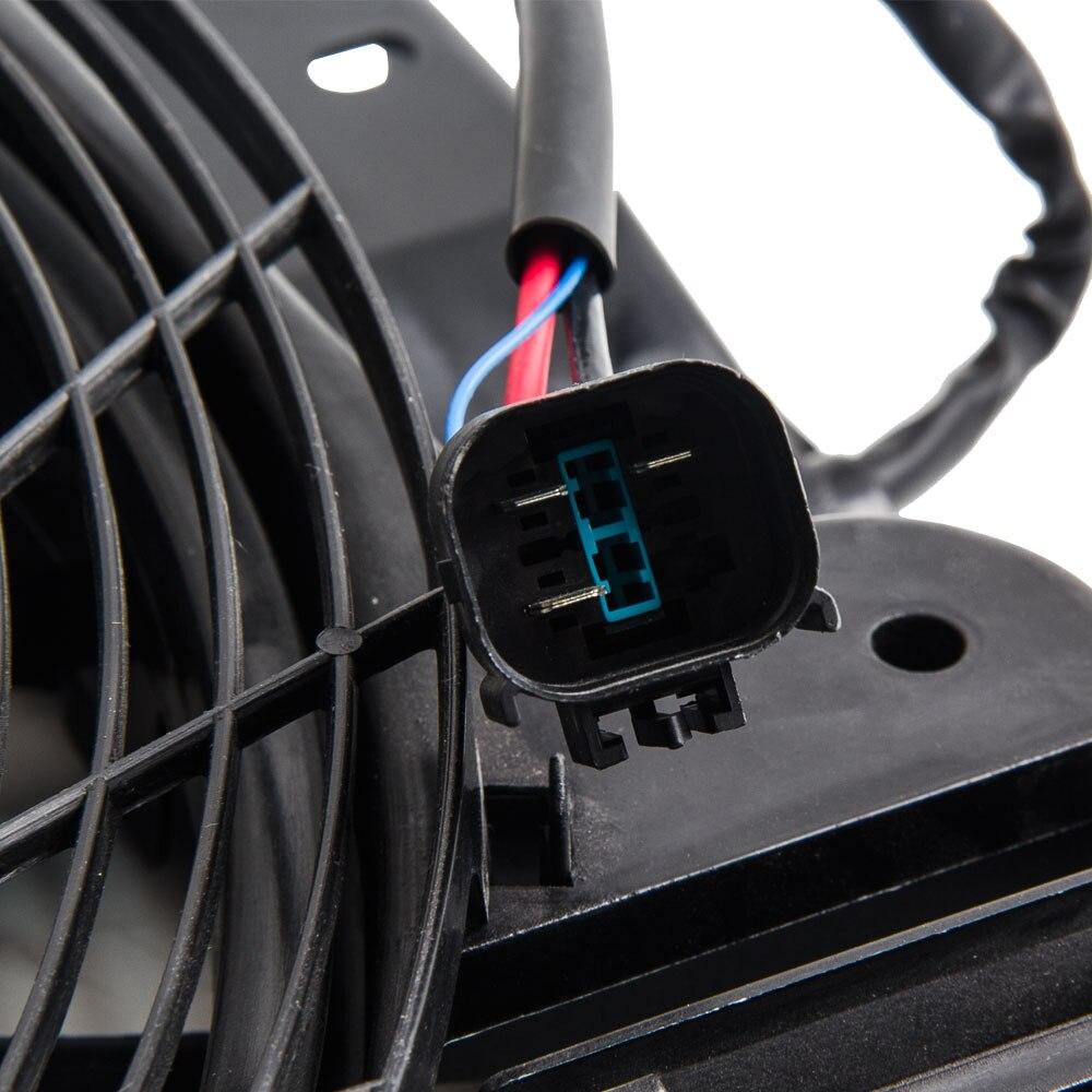 A/C AC Kühler Kondensator Kühlung Drücker Fan 5 Klingen für BMW X5 E53 00 06 E53 Serie 64546921381 für 3,0 4,4 4,6 - 4