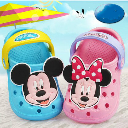 Sandals children shoes boys skid slippers hole shoes baby girls shoes baby soft soled shoes