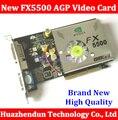 Бесплатная Доставка Прямо с Завода НОВЫЕ Quadro FX5500 GeForce 256 МБ DDR AGP 4X 8X VGA DVI Видеокарта С CD