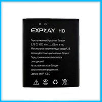 Explay HD Battery, High Quality Mobile Phone Replacement Li-ion Battery for Explay HD 3000mAh Battery
