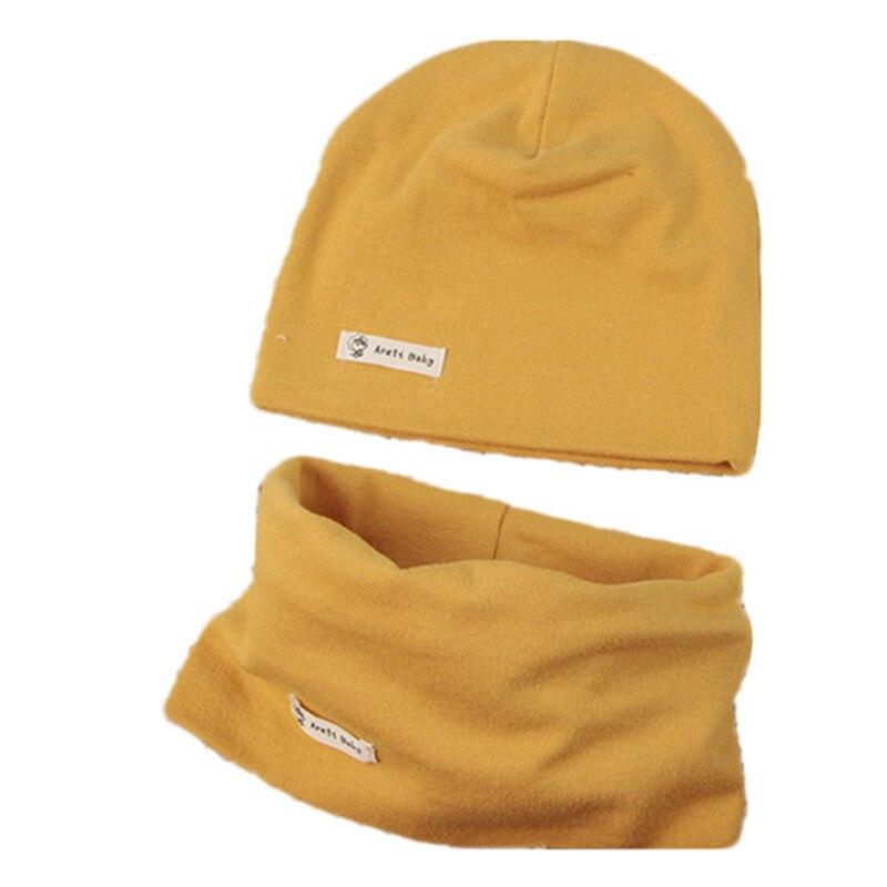 Scarf Hat Spring Beanie Children Woolen Autumn Kids Cotton Caps Girls Boys for Baby Under-6-years/Boys/Girls/..