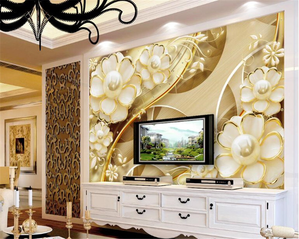 Beautiful Wallpapers For Wall Decor Ideas - The Wall Art Decorations ...