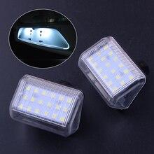 Beler 2 шт. автомобиля светодиодный 18 LED номерной знак свет лампы, пригодный для Mazda CX-7 CX-5 Speed6 13061970 13061971 Автомобиль Стайлинг авто запчасти