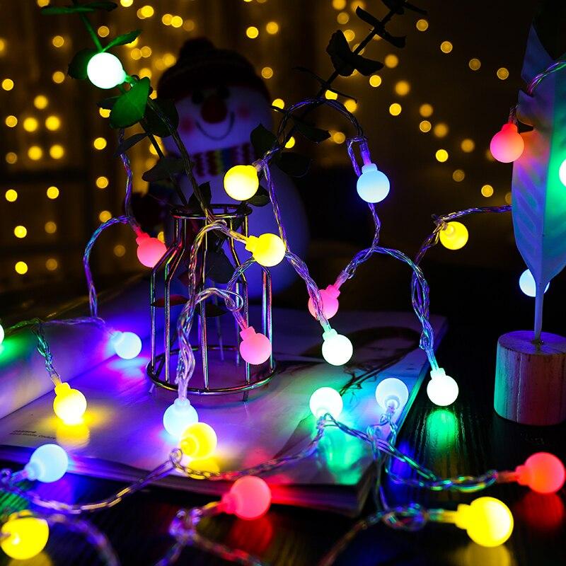10 M Led Girlande Licht String Led Ball Licht 31 V Remote Led String Lichter Für Festival Hochzeit Innen Licht Dekoration