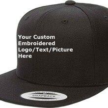 Создайте свой собственный дизайн текст/логотип/изображение бейсболка с вышивкой для любого количества Заказная шляпа Розничная и принимаем один кусок