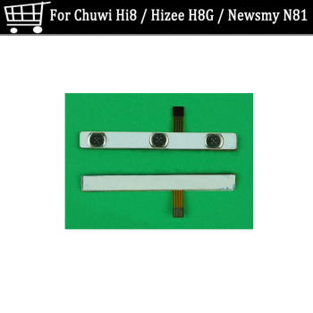 Genuine on / off Power Flex cable For Chuwi Hi8 power switch button flex cable For Hizee H8G Newsmy N81 Volume flex cable