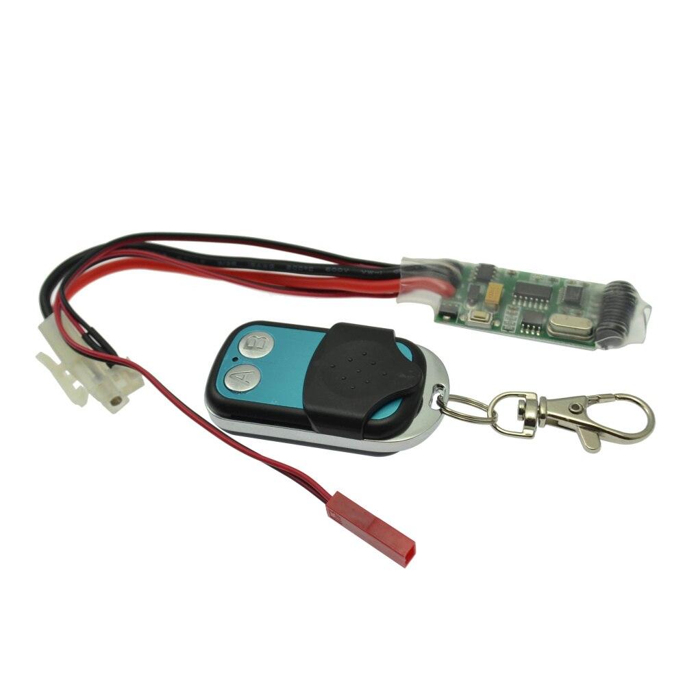 1/10 RC Car Winch Control Wireless Remote Receiver for 1:10 RC Crawler Truck SCX10 D90 Winch rc crawler metal winch   wireless remote