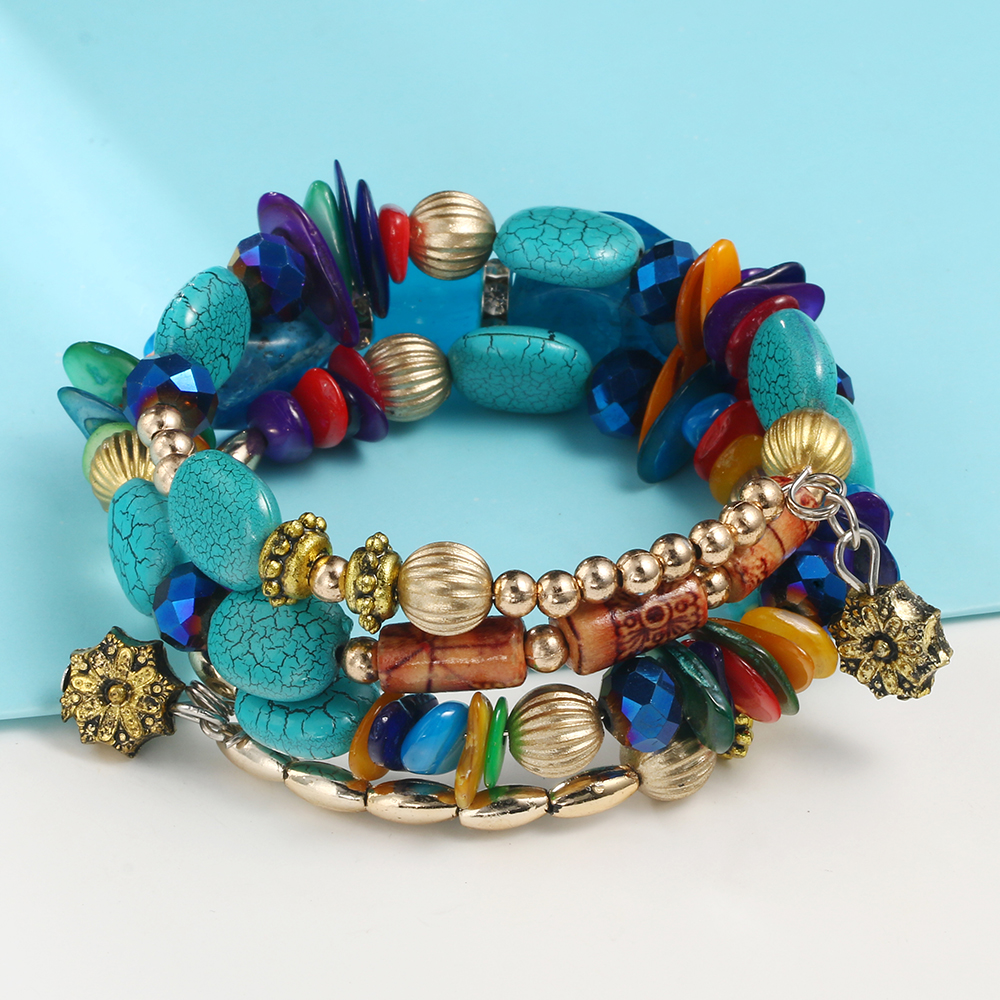 Bohemian fashion charm bracelets for women 6