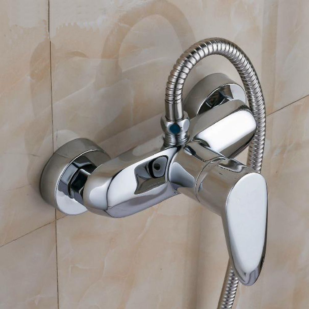 Homedec Polished Chrome Finish New Wall Mounted Waterfall Bathroom Bathtub Handheld Shower Tap Mixer Faucet   -Free ShippingHomedec Polished Chrome Finish New Wall Mounted Waterfall Bathroom Bathtub Handheld Shower Tap Mixer Faucet   -Free Shipping