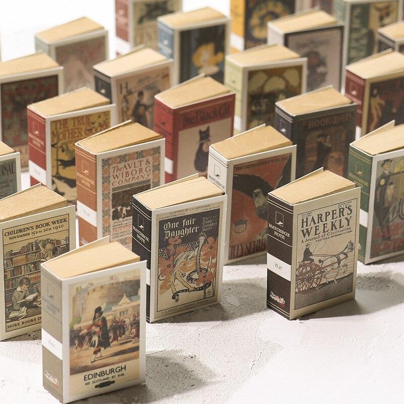 1 шт. ретро мини коврик для спичек, записная книжка Kawaii, записная книжка для студентов, Скрапбукинг DIY, Канцтовары из крафт бумаги|Блокноты|   | АлиЭкспресс
