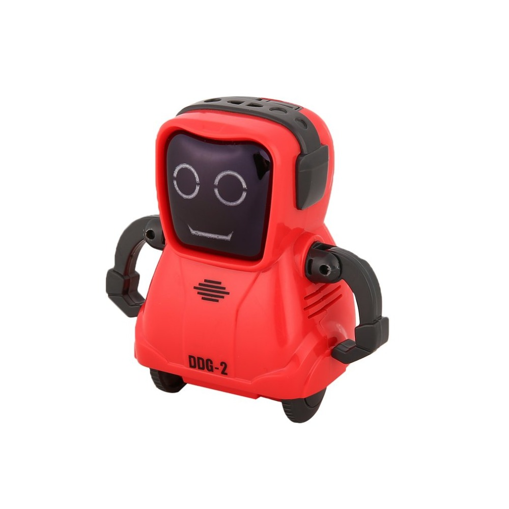 DDG-3 DDG-2  Intelligent Smart Mini Pocket Voice Recording RC Robot Recorder Freely Wheeling 360 Rotation Arm Toys for Kids Gift 15
