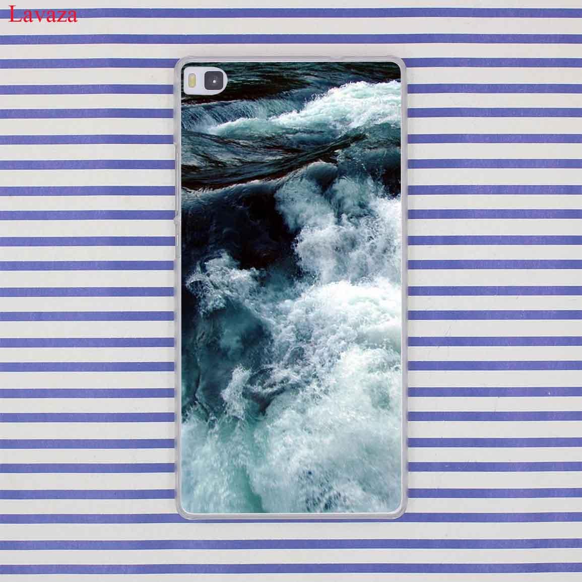 Lavaza волны океана воды света преломлений чехол для huawei P20 P10 P9 плюс P8 Lite Mini 2016 2017 P Smart коврики 10 9 Lite Pro