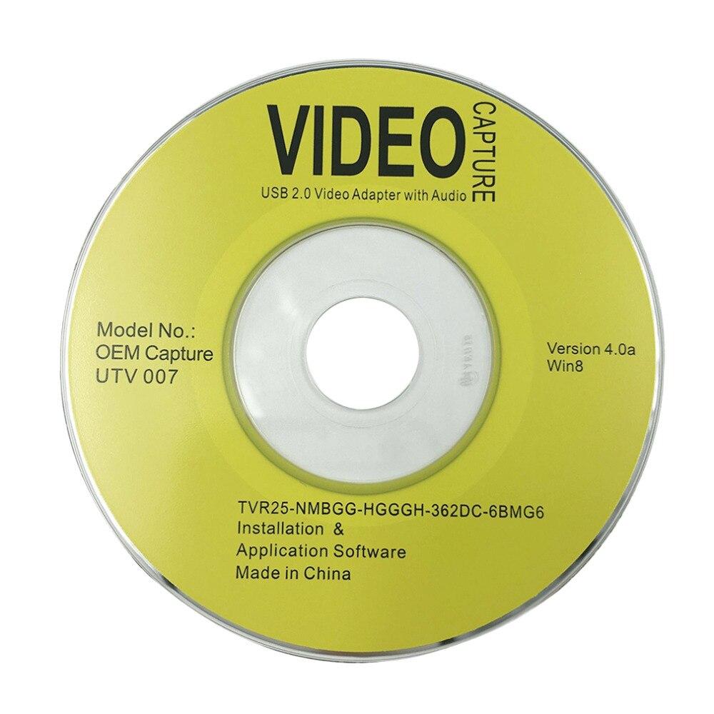 Նոր դյուրակիր USB 2.0 Easycap վիդեո աուդիո - Համակարգչային բաղադրիչներ - Լուսանկար 3