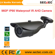 Free shipping Newest Version 1.3MP Bullet Camera Full HD 960P IP66 Waterproof Outdoor CCTV AHD Camera must work with AHD DVR