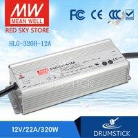 (Sadece 11.11) IYI HLG-320H-12A (1 Adet) 12V 22A meanwell HLG-320H 264W Tek Çıkışlı LED Sürücü Güç Kaynağı A tipi