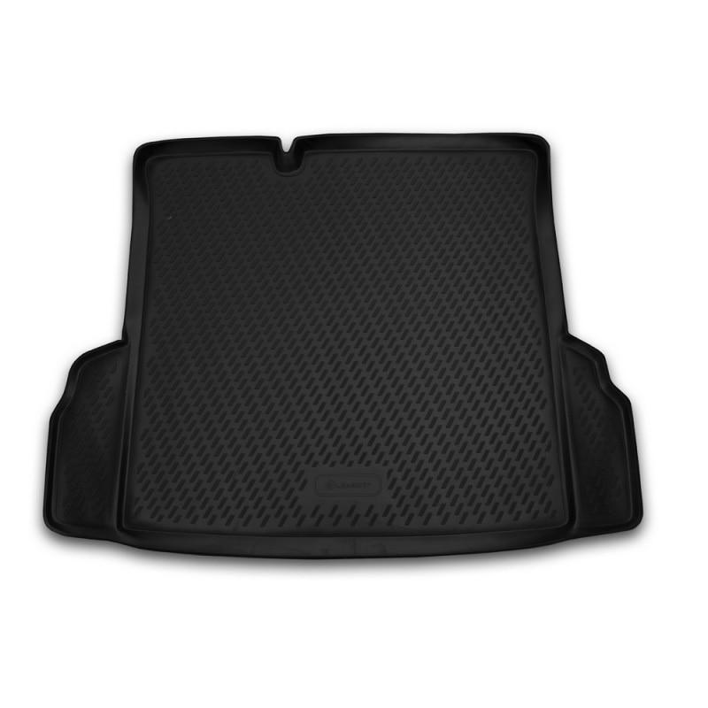 For Chevrolet Cobalt 2013-2018 sedan car trunk mats liner boot cargo mat tray floor carpet boot cargo rear mat car styling цены