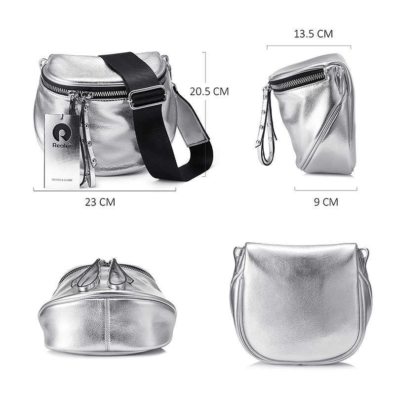 REALER женская сумка через плечо для 2019, маленькая сумочка кросс-боди из искусственной кожи для девочек подростков, модная дизайнерская сумочка на плечо для женщин