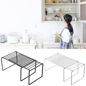 Sliding-Rack Organizer Tableware Cabinets Iron-Storage Retractable-Shelf Home for Countertops