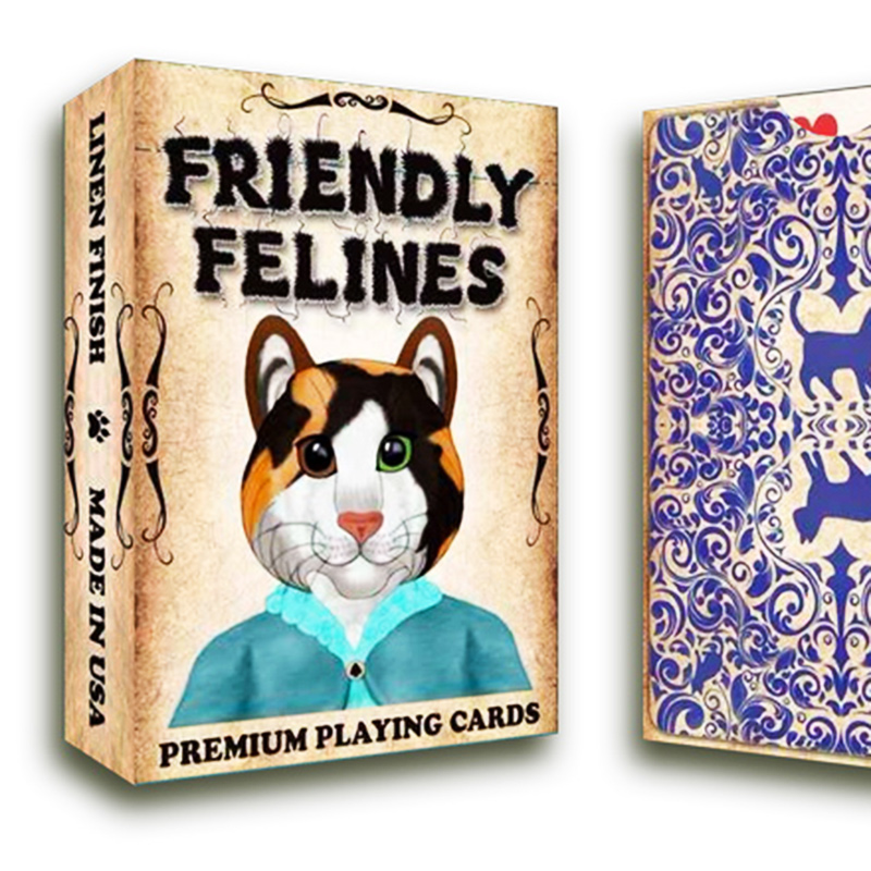 Collectable Friendly Feline Playing CardsPoker Deck
