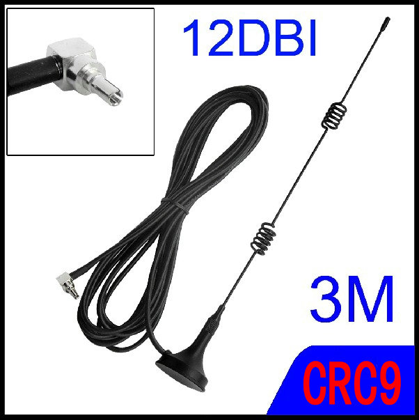 bilder für 3g antenne für HUAWEI ec315e355 e367e3131 e353, etc. crc9 anschluss kostenloser versand