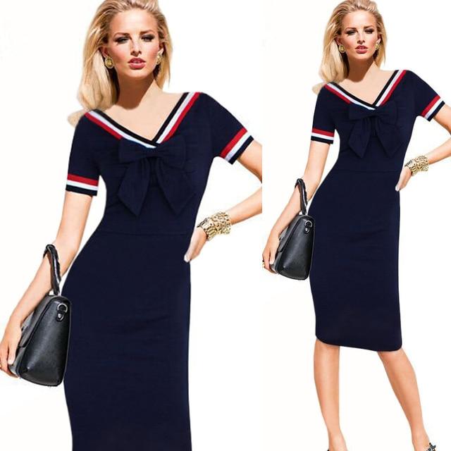 Vestido de marinero para mujer