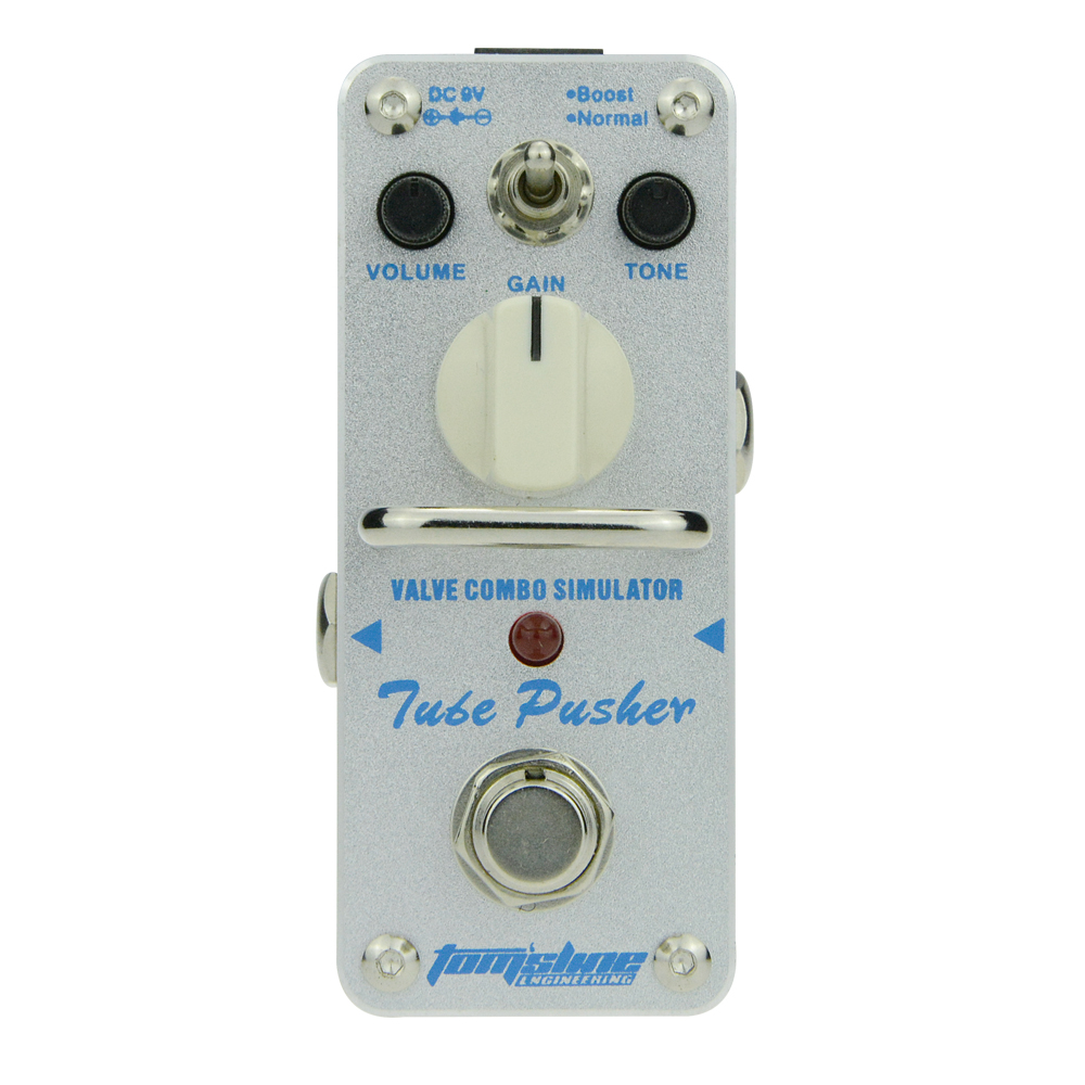 Aroma Tube Pusher Valve Combo Simulator Overdrive Guitar Effect Pedal ATP-3 Normal Mode Volume Control Boost Mode Gain Control палатка normal виктория 3