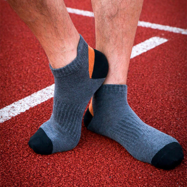Sport Soft Cotton Breathable Low Cut Socks 5 Pairs