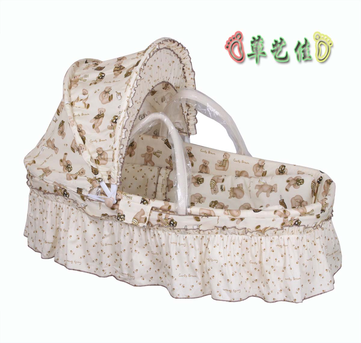 Baby Basket Portable Cradle Straw Braid Sleeping Basket Car Baby Baskets  Baby Basket Baby Cradle Bed ...