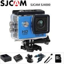 SJCAM SJ4000 действие Камера 1080 P Full HD занятия спортом на открытом воздухе мини видеокамера 2.0 дюймов Дайвинг Водонепроницаемый оригинальный SJ 4000 cam