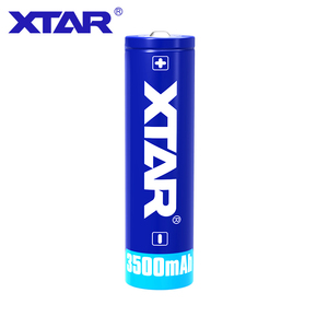 Image 3 - Xtar batería recargable original de 18650 mAh, 3500 V, 3,7 V, diseñada para linternas, suministros de energía portátiles, 1 Uds.