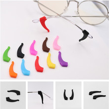 COLOUR-MAX 1Pair Anti Slip Silicone Eyeglasses Glasses Ear Hooks Tie Sunglasses Leg