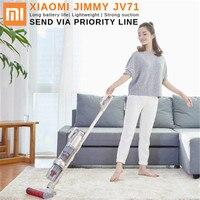 Новый Xiaomi JIMMY JV71 робот вертикальный мульти функция ручной беспроводной пылесос большой всасывания для домашнего использования по приорите