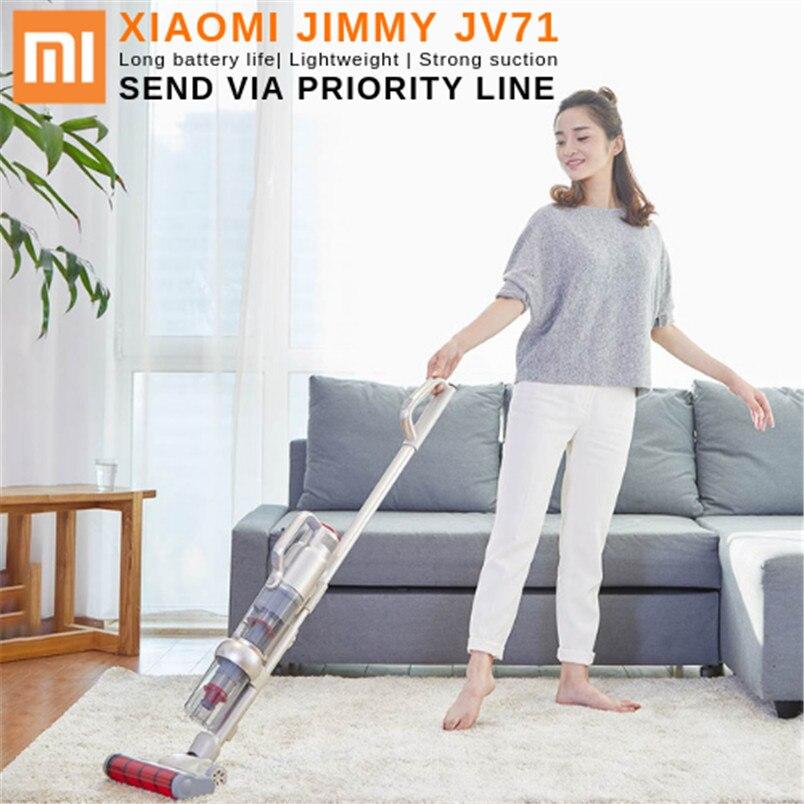 Nouveau Xiaomi JIMMY JV71 Robot Vertical Multi-fonction De Poche Sans Fil aspirateur grande aspiration pour un usage domestique par priorité ligne