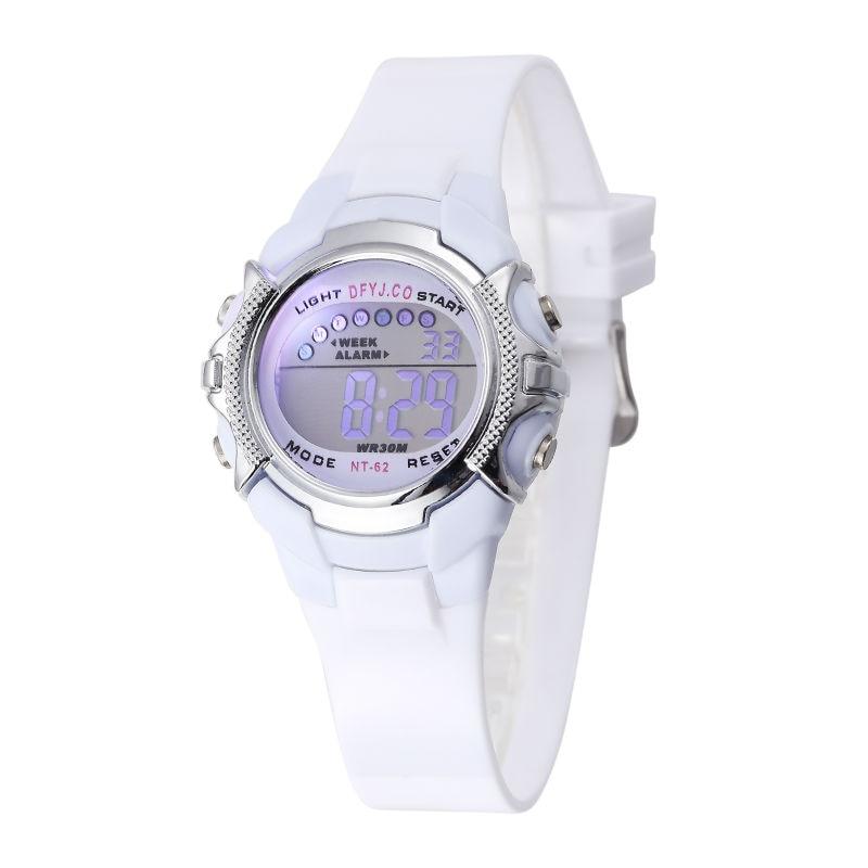 Children's Watches Irissshine #0110 Children Watch Boy Girl Alarm Date Digital Multifunction Sport Led Light Wrist Watch Relogio Feminino A15