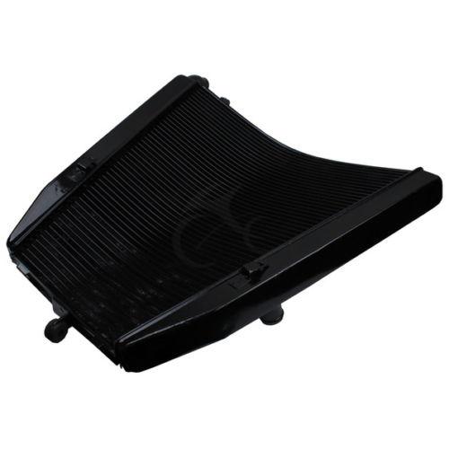 Motorcycle Radiator Cooler Aluminum Black For Honda CBR1000RR CBR 1000 RR 2004 2005