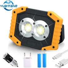 100W Portable light COB Work Light Floodlight Searchlight Spotlights 5V Usb Rechargeable Super Bright Handheld 2019