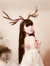 reindeer antlers christmas headband for gift party decoration supplies princess women girl