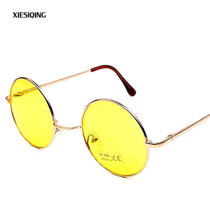 Luxury Round Sunglasses Women Brand Designer 2018 Retro Sunglass Driving Sun Glasses For Women Lady Men Female Sunglass Mirror