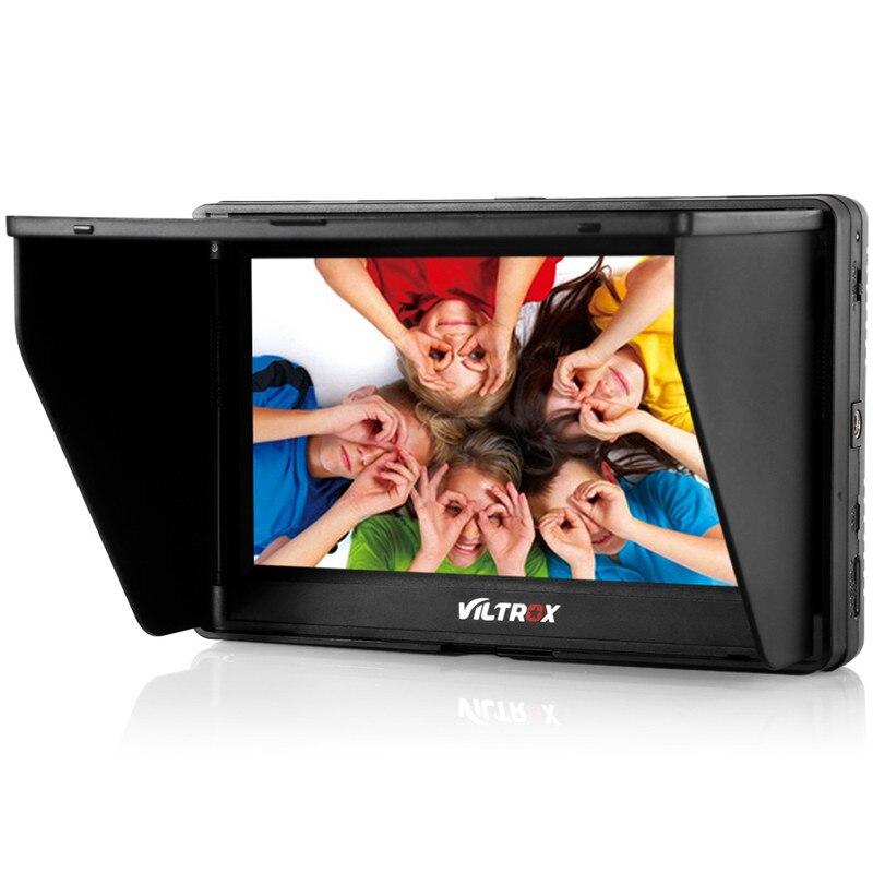 bilder für Neue Monitor Viltrox DC-70II 7 Zoll Tragbare HDMI In Out Clip-on High Definition LCD Monitor Für Nikon Sony Canon DSLR kamera