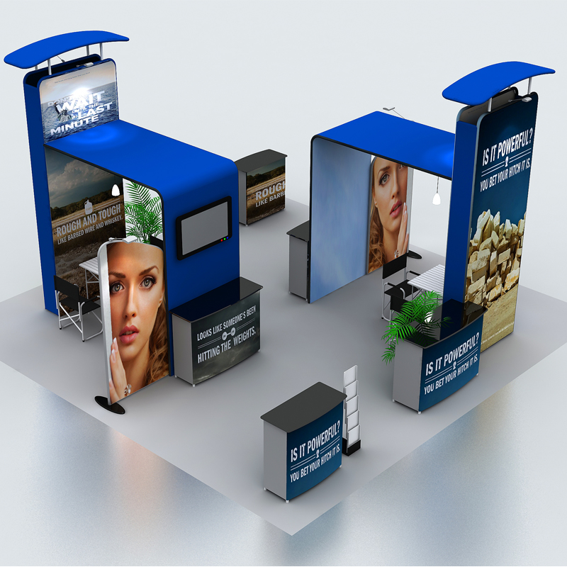 Trade Show Booth Banners : Aliexpress buy ft portable trade show display