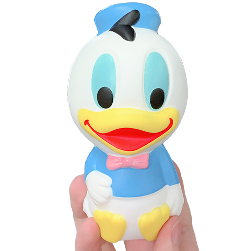 Kawaii Donald Duck Squishy Slow Rising Simulation Cartoon Doll Soft Scented Squeeze Toys Stress Relief For Kid Xmas Gift Toy