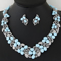 Women african beads jewelry set Trendy necklace with earrings boho statement necklace for party wedding fashion Direct Selling