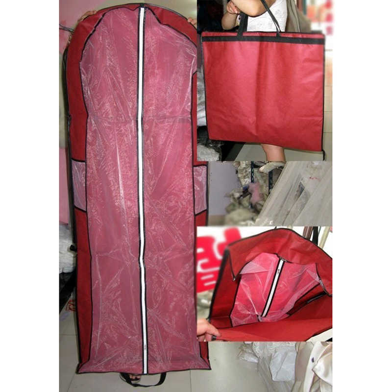 Горячая Распродажа Свадебные по дешевой цене платье сумка чехол для одежды чехол от пыли для одежды сумки свадебный чехол для одежды чехол для свадебного платья