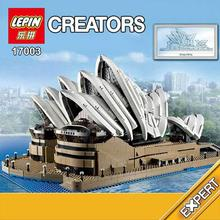 LEPIN 17003 Creator Sydney Opera House Model Building Kits Minifigures Blocks Bricks Toys Compatible with 10222 2989Pcs